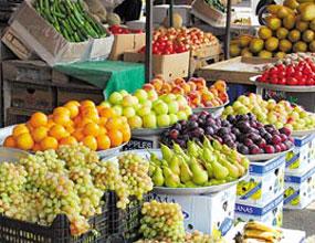 جدول نرخ جدید انواع میوه و سبزی/ کاهش۴۰ درصدی قیمت گوجه سبز