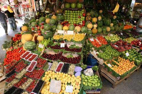 قیمت انواع میوه و سبزی+جدول