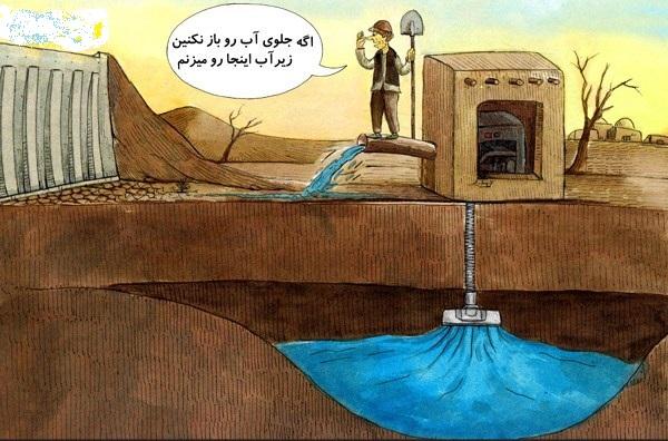 دلیل حمله به آبهای زیر زمینی!